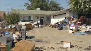 messy yard